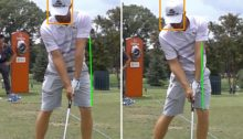 CLASE DE GOLF. Como mejorar tu swing: Desplazamiento y secuencia de golpeo