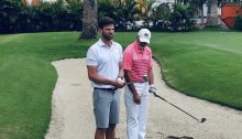 Aprovecha tu clase de golf.