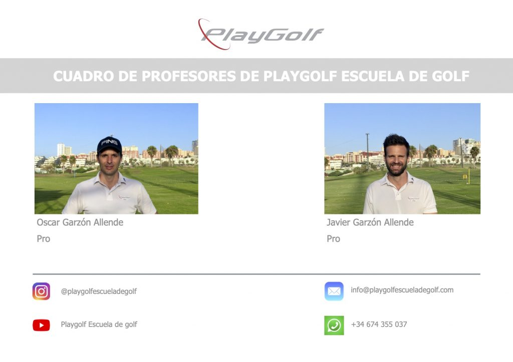 Profesores de Playgolf Escuela de Golf