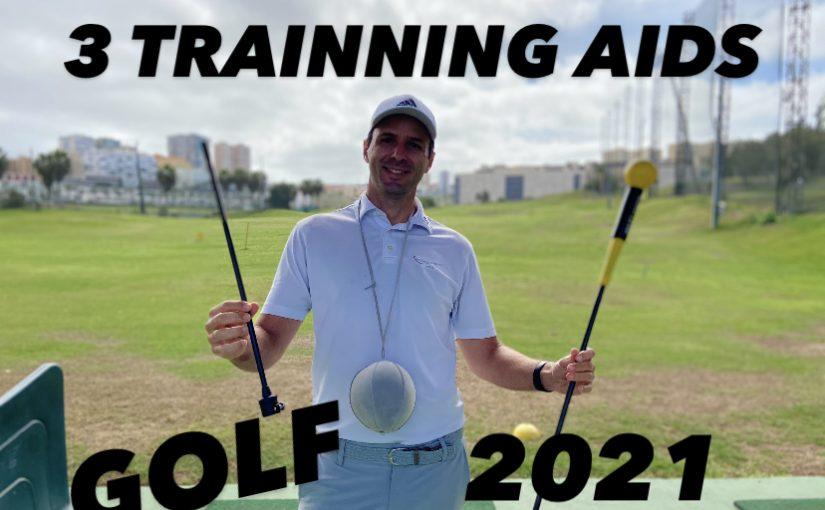 3 Training Aids para mejorar tu golf en 2021
