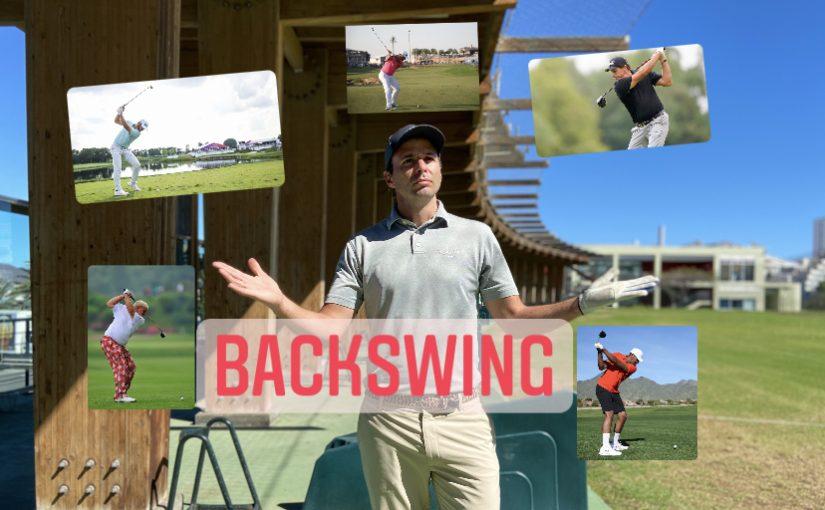 Como hacer el backswing en el swing de golf